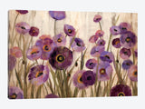 Pink and Purple Flowers  by Silvia Vassileva Canvas Print 40