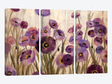 Pink and Purple Flowers  by Silvia Vassileva Canvas Print 60