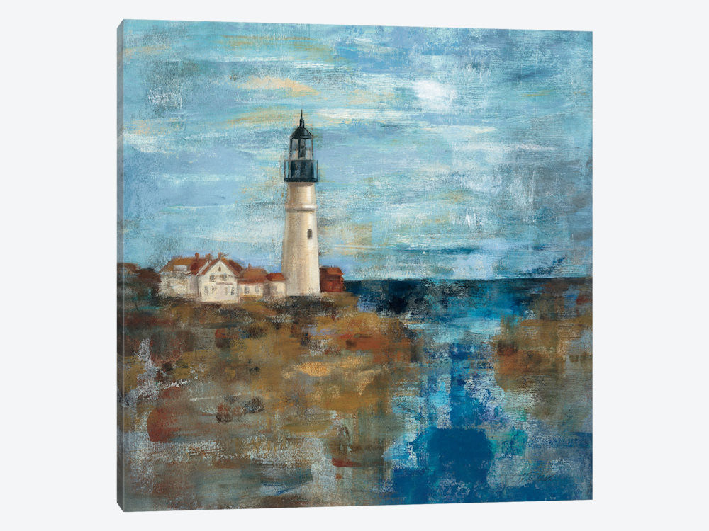 "Lighthouse Dream  by Silvia Vassileva Canvas Print 37"" L x 37"" H x 0.75"" D - eWallArt"