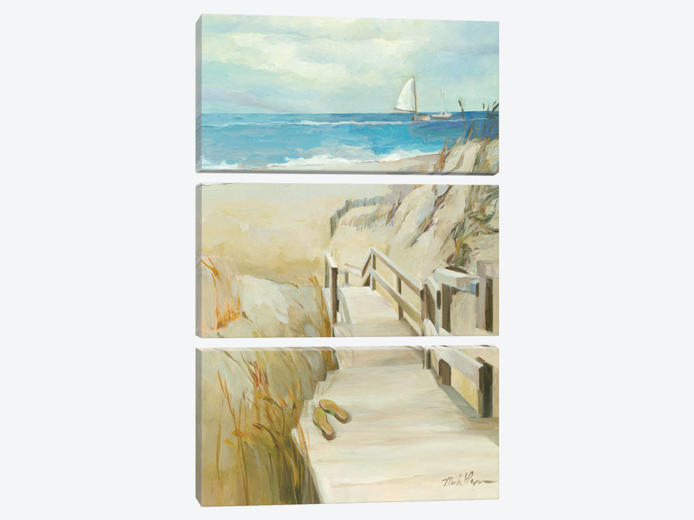 "Coastal Escape by Wild Apple Portfolio Canvas Print 40"" L x 60"" H x 0.75"" D - eWallArt"
