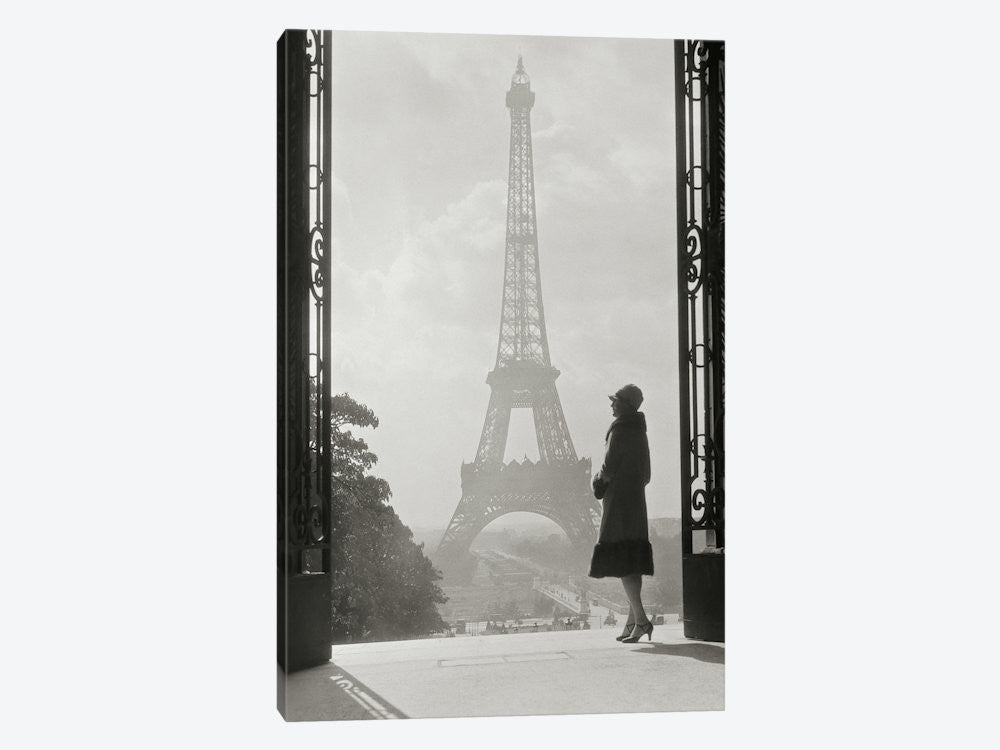 "Paris 1928 by Wild Apple Portfolio Canvas Print 40"" L x 60"" H x 1.5"" D - eWallArt"