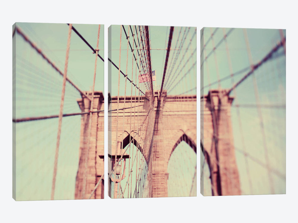 "Bridges of NYC part 6 by Alicia Bock Canvas Print 60"" L x 40"" H x 0.75"" D - eWallArt"
