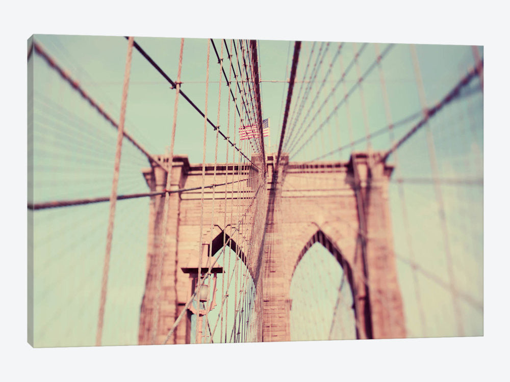 "Bridges of NYC part 6 by Alicia Bock Canvas Print 40"" L x 26"" H x 0.75"" D - eWallArt"