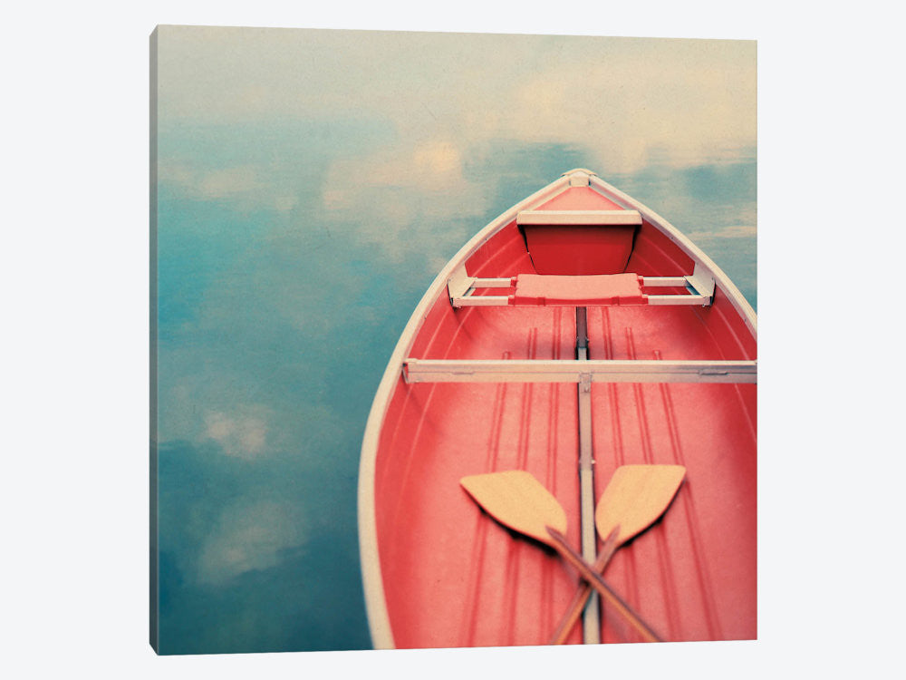 "Floating on a Cloud by Alicia Bock Canvas Print 37"" L x 37"" H x 0.75"" D - eWallArt"