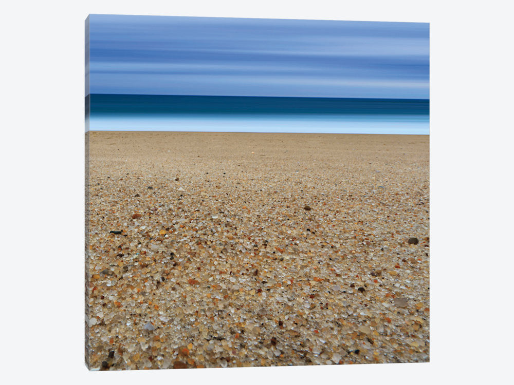"Glass Sand by Katherine Gendreau Canvas Print 26"" L x 26"" H x 0.75"" D - eWallArt"