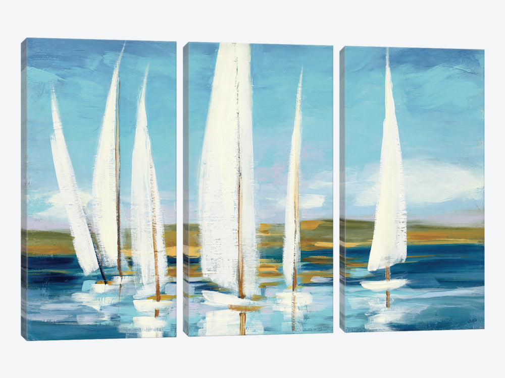 "Horizon by Julia Purinton Canvas Print 60"" L x 40"" H x 0.75"" D - eWallArt"