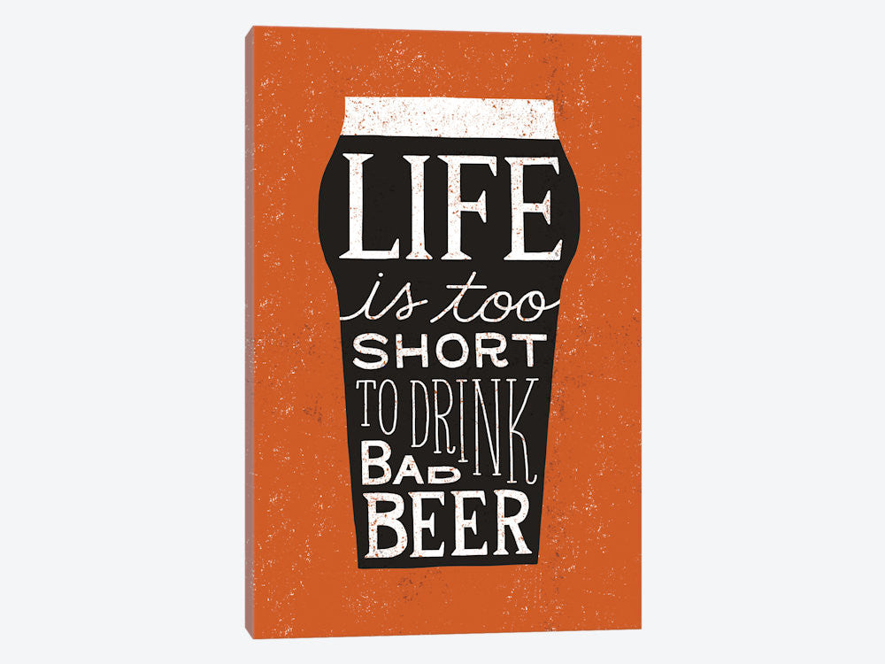 "Craft Beer I by Michael Mullan Canvas Print 26"" L x 40"" H x 0.75"" D - eWallArt"