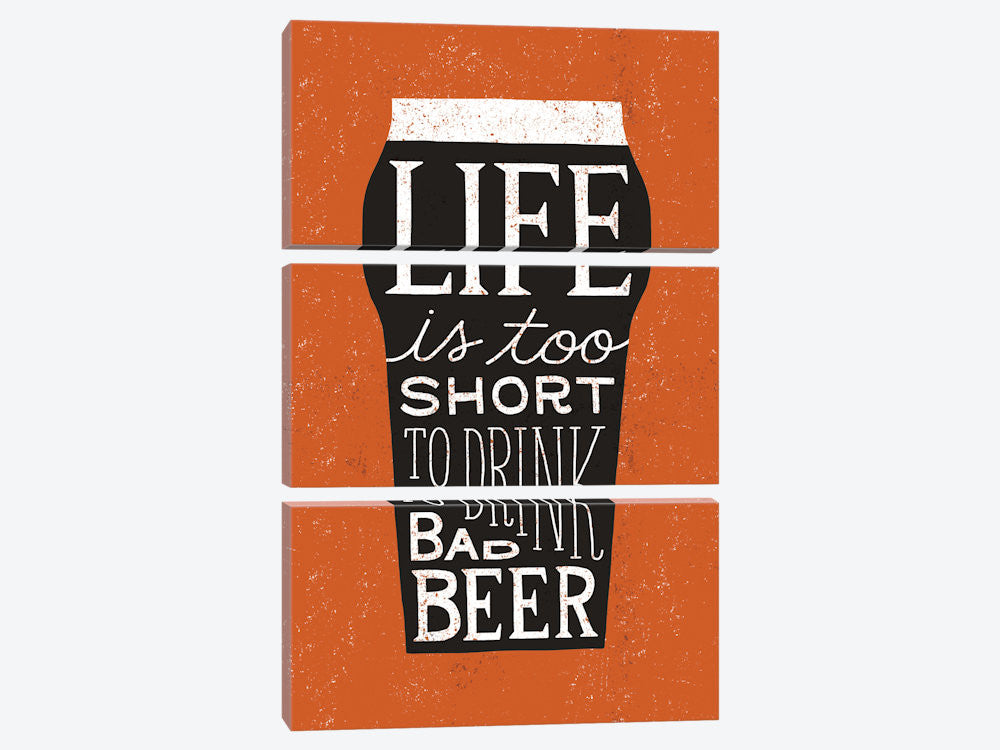 "Craft Beer I by Michael Mullan Canvas Print 40"" L x 60"" H x 0.75"" D - eWallArt"