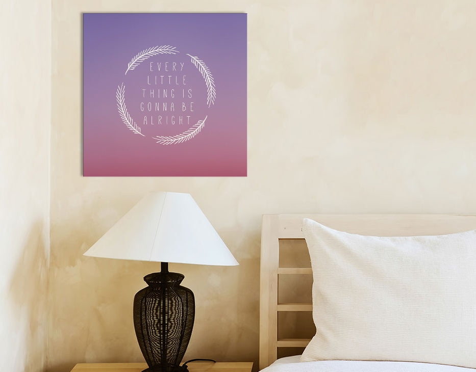 "Little Things by Galaxy Eyes Canvas Print 26"" L x 26"" H x 0.75"" D"