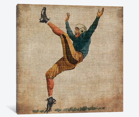 "Vintage Sports V by John Butler Canvas Print 48"" L x 48"" H x 1.5"" D"