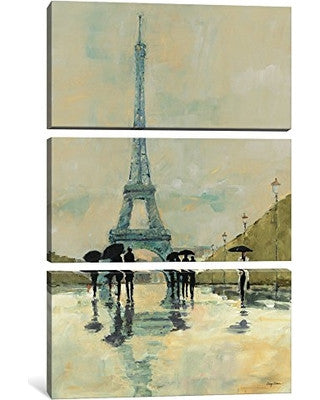 April in Paris by Avery Tillmon Canvas Print