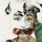 Audrey by Ines Kouidis Canvas Print 48