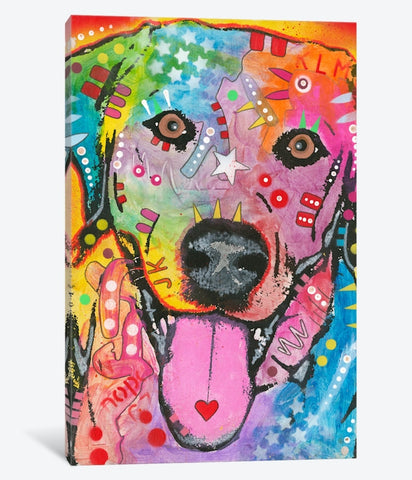 "Loving Joy by Dean Russo Canvas Print 18"" L x 26"" H x 0.75"" D"
