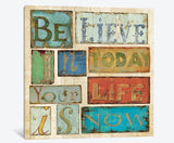 Believe & Hope by Daphne Brissonnet Canvas Print 26