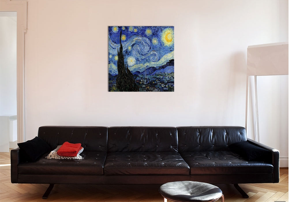 "The Starry Night Canvas Print 26"" L x 26"" H x 0.75"" D"