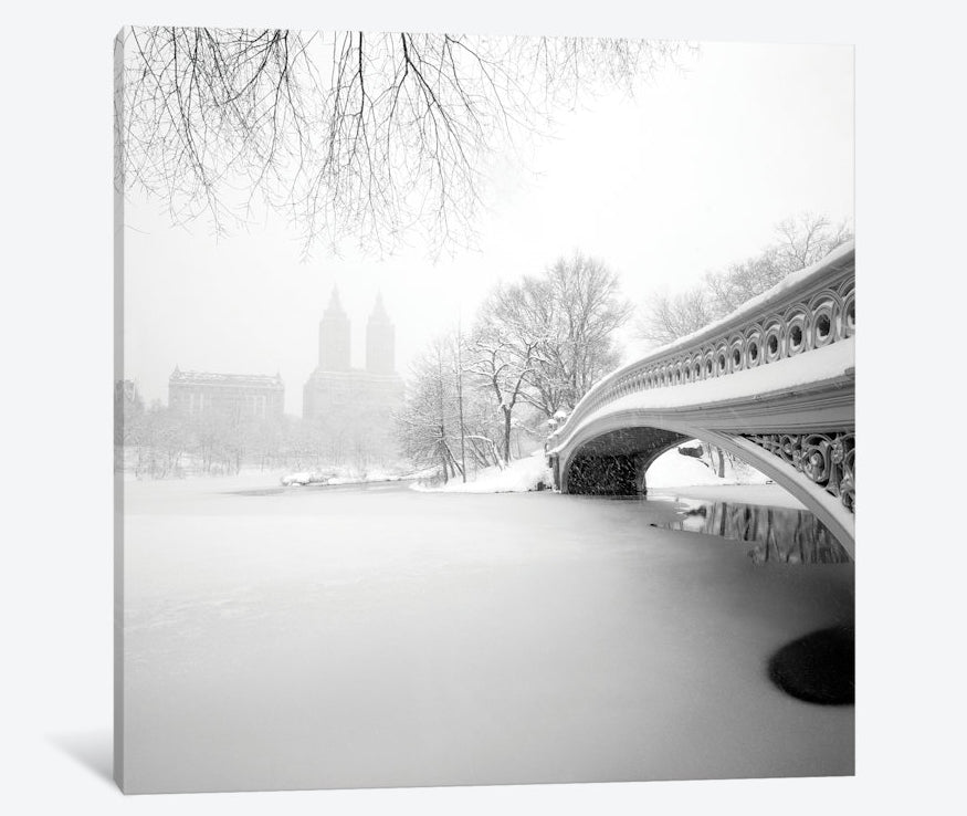 "Bow Bridge Central Park by Håkan Strand Canvas Print 37"" L x 37"" H x 0.75"" D"