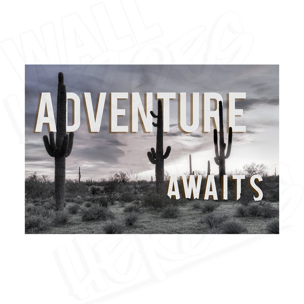 Adventure Awaits Print