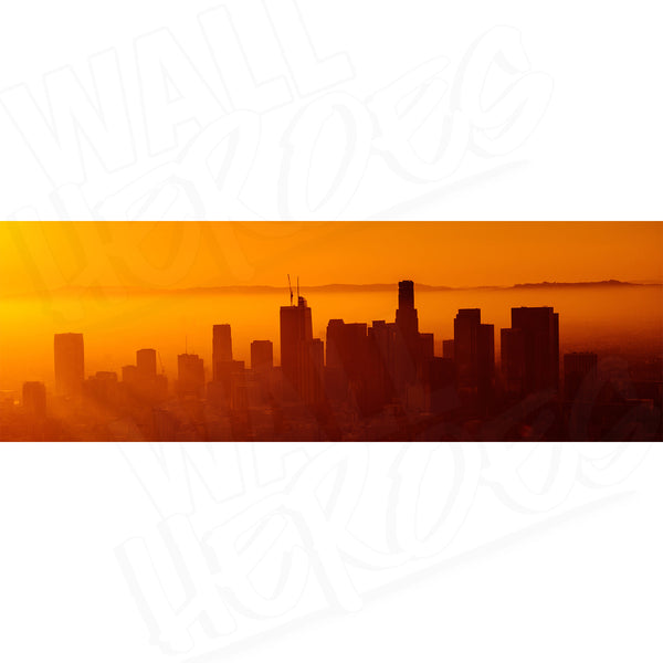 Cali Sunset Adhesive Panel Print