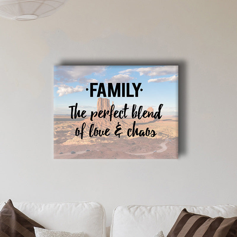 Family Blend Canvas