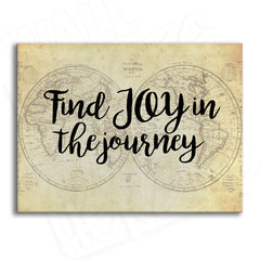 Joy in the Journey Canvas