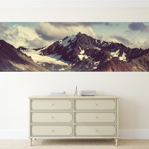 Mountain Peak Adhesive Panel Print