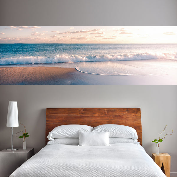 Sandy Beach Adhesive Panel Print