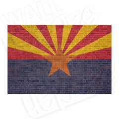 Arizona Brick Flag