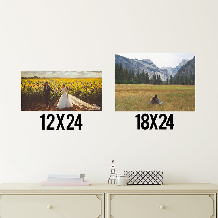 Create Your Own Vinyl Landscape Prints