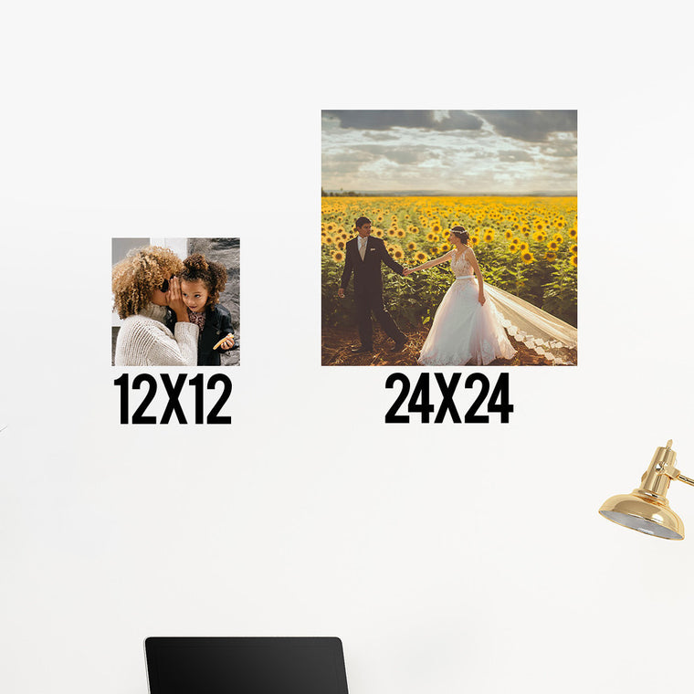 Create Your Own Vinyl Square Prints