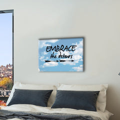 Embrace the Detours Canvas Print