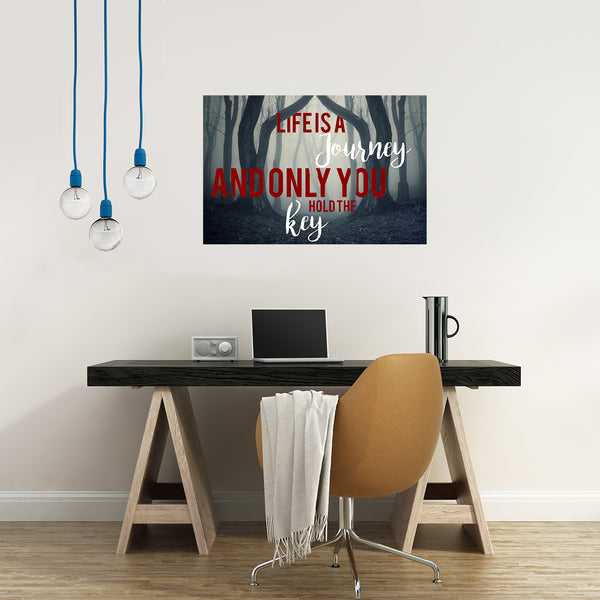 Life is a Journey Print