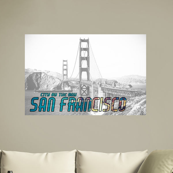 San Francisco City Vinyl Print