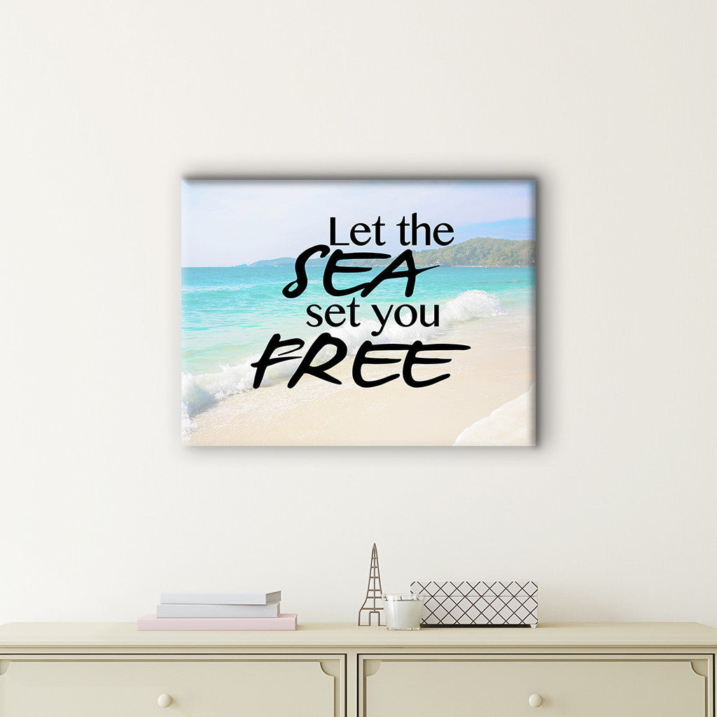 Set You Free Canvas Print