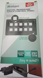 Boat 10 Digital Membrane Switch Panel Touch Control Panel On/Off Indicator