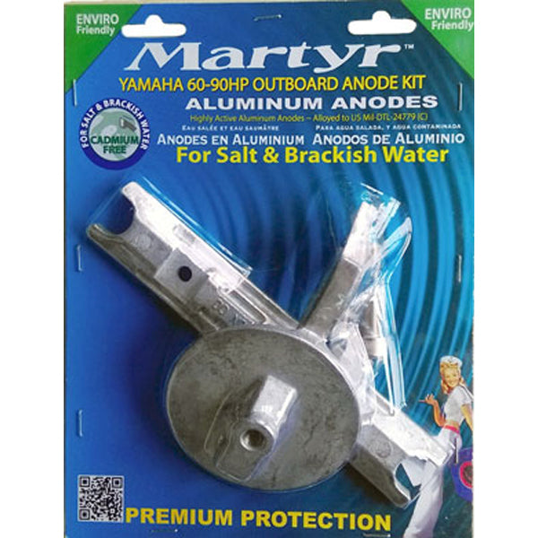 Yamaha Alloy Anode Kit 60-90 Horse Power Outboard Martyr Aluminium Salt Water
