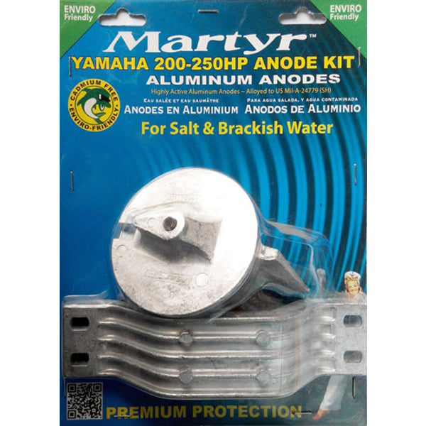 Have one to sell? Sell it yourself Anode Kit Yamaha 200-250 Horse Power Outboard Martyr Aluminium Salt Water New