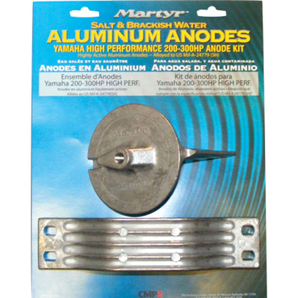 Anode Alloy Kit Yamaha 200-300 HP High Performance