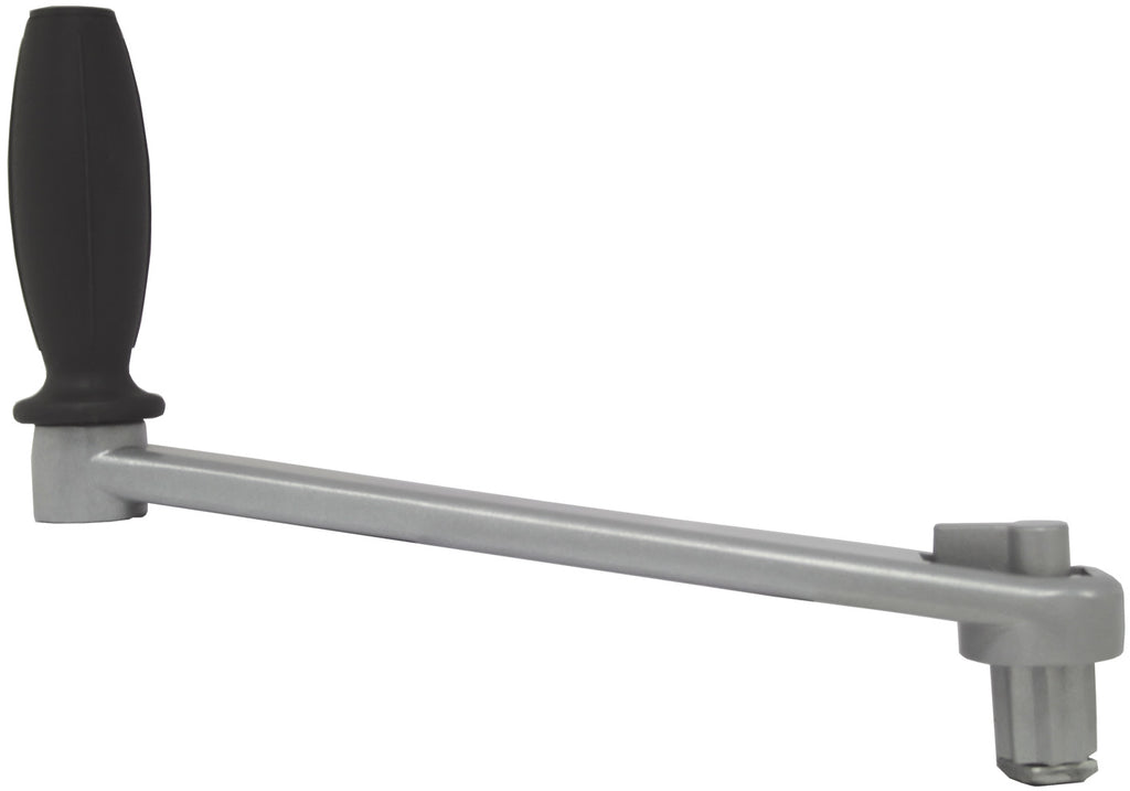 Yacht Winch Handle- Sheet Winch Handle 250mm Lock In Alloy Grey Powder Coated