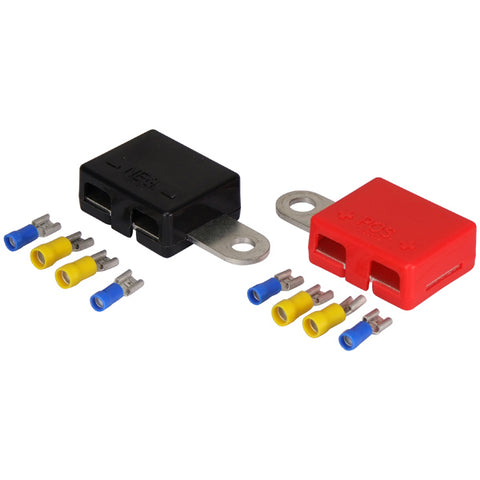 BATTERY TERMINALS, 12 VOLT MULTI CONNECTION 4 TERMINALS BOAT, CARAVAN,