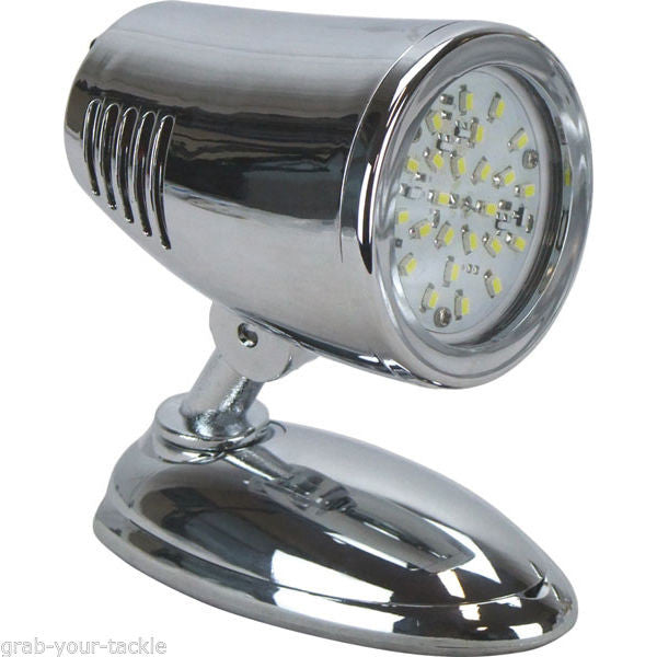 LED INTERIOR READING LIGHT LAMP 12V 12 VOLT NEW L.E.D CARAVAN BOAT