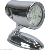 LED Interior Swivel Reading Light Lamp 12 Volt New L.E.D Caravan Boat Cool White