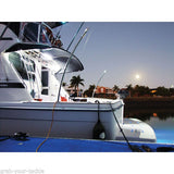 Waterproof LED Light Slim cool white switch Caravan Boat 400 Lumens SMD X 2 Lights
