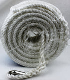 Boat Silver Anchor Rope 15m x 8mm PE Silver Anchor rope for Boat