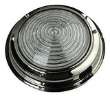 Boat Light/Marine Dome Light Stainless Steel Dual colour red/white 138mm diam