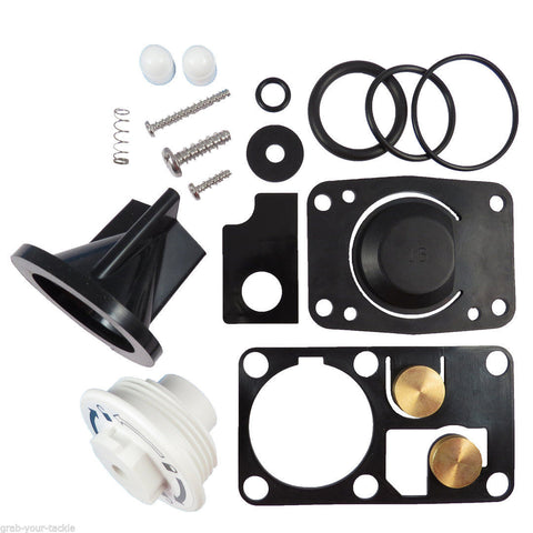Jabsco Toilet Service Kit 29045-3000 J15-202 Twist N lock Toilet Repair Kit
