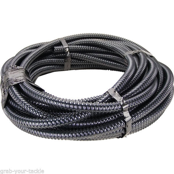 Bilge Pump Hose for Boat/Marine use 10m Roll, 25mm Corrugated Very Flexible
