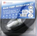 "Bilge Pump Plumbing Kit / Installation kit 28mm 1 1/8"" with 5' hose Marine"