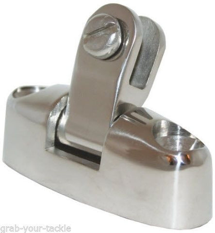 Stainless Boat Canopy Fitting SWIVEL DECK MOUNT FITS ALL CANOPY ENDS