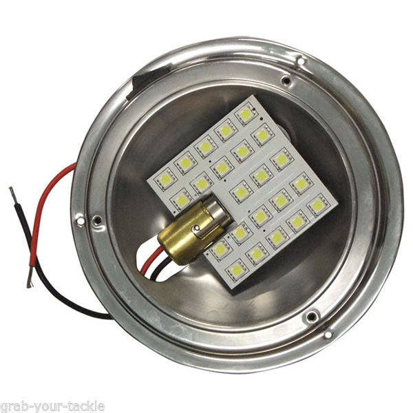 Boat LED SMD Caravan Interior Dome Light Upgrade KIT 12volt High Output Low Draw
