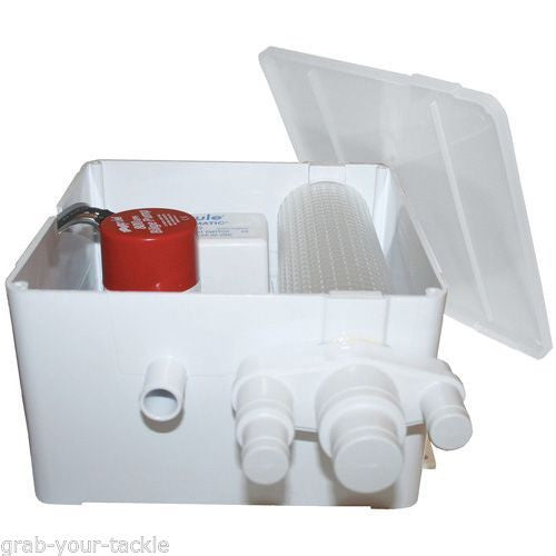 Shower Drainage Tank and Pump Kit for Boat Caravan RV 12 volt